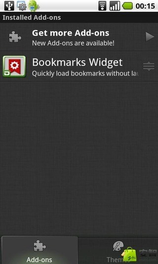 Bookmarks Widget